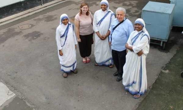 Concerto nella Casa Malati poveri curati dalle Suore di M.Teresa a Calcutta