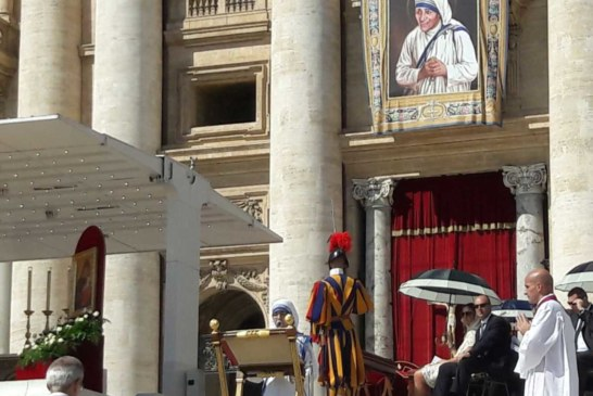 Anniversario Canonizzazione Madre Teresa